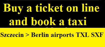 taxi Berlin airport shuttle to Szczecin